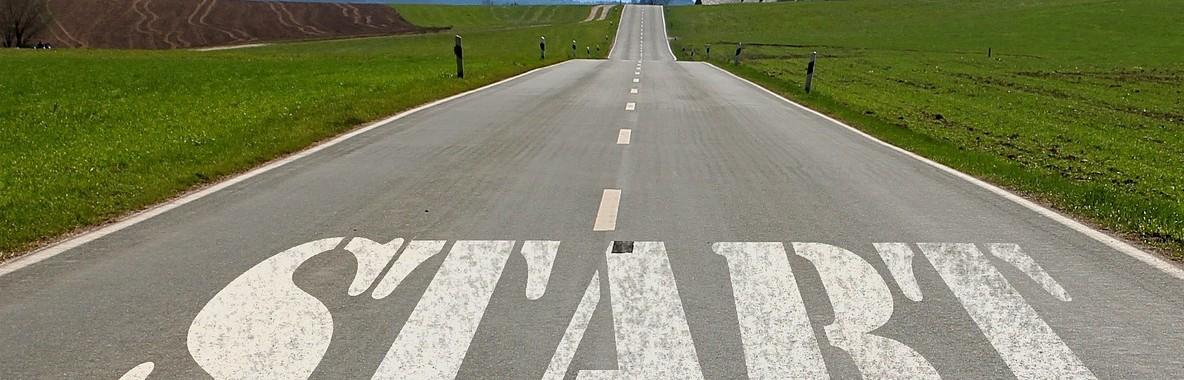 road-start